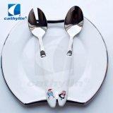 Insiemi di ceramica dell'insalata dell'acciaio inossidabile della maniglia 18/0 dei prodotti di alta qualità