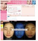 3 Spektren beleuchten magische haut-Analysegeräten-Schönheits-Maschine des Spiegel-3D Gesichts