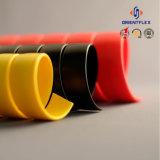 Involucro idraulico di protezione del tubo flessibile di colore nero e giallo