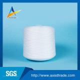 Anillo hecho girar sin procesar 100% de la materia textil del hilado de Polyesyer del precio de fábrica hecho girar