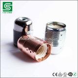 Colshine E27 플라스틱 삽입과 나사 반지를 가진 금관 악기 램프 컵