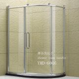 流行の簡単なシャワー室のステンレス鋼のガラスドアハンドル(6046)