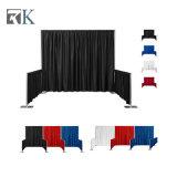El tubo y drapeado exposición Feria de diseño de stand para mostrar