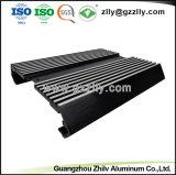 Materiale da costruzione personalizzato nuovo disegno dell'espulsione di alluminio per il dissipatore di calore