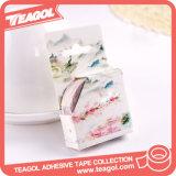 Venta al por mayor de cinta de papel colorida de DIY Washi, cinta adhesiva decorativa