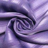 Streifen-Jacquardwebstuhlspandex-Satin des Semigloss-50d*50d+40d für Nightgown und Unterwäsche