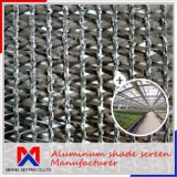 Franco de red de aluminio de la cortina del ahorro de la energía el 15%~80%