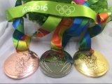Medaglie olimpiche dell'accumulazione con il nastro