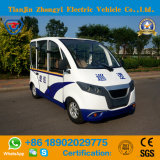 Патрульная машина Seater китайца 4 низкоскоростная электрическая с высоким качеством