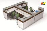 Het onafhankelijke en Comfortabele Werkstation van het Bureau van het Meubilair voor 4 Mensen