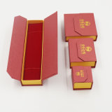 Rectángulo de papel modificado para requisitos particulares de la cartulina del precio de fábrica para la joyería (J21-E)