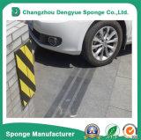 Espuma reflexiva preta/amarela high-density do protetor da parede da garagem da espuma de Stirped
