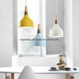 Moderner Leuchter-hängende Lampe mit Sixe Farben für Dekoration