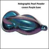 Пигмент краски перлы яркия блеска крома Spectraflair голографический покрывает основание Purplr