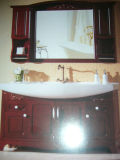 Деревянный шкаф тщеты шкафа ванной комнаты (W-004)