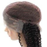 Parrucca di vendita calda anteriore delle donne dell'onda dei capelli umani della parrucca 100% del merletto bella