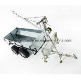 卸し売りGalvanizatedボックストレーラー、実用的なトレーラー、電流を通された実用的なトレーラー