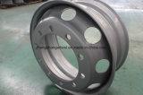 22,5 X8.25 хорошие цены стали погрузчик колесный погрузчик стальное колесо, стальные колеса погрузчик колесный обод колеса прицепа