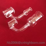 Baiboの90degreeによって曲げられる男性か女性によって溶かされる透過水晶釘