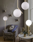 북유럽인 단순히 고전적인 현대 유리제 램프
