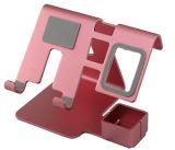 Multi carrinho Foldable ajustável do telefone de pilha da tabuleta do metal do suporte da mesa da liga de alumínio do ângulo 2017