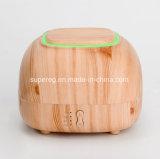 Vende al por mayor el humectador de madera 300ml del difusor del aroma del petróleo de Aromatheraphy Essentil del grano del aerosol de la niebla de 4 caras