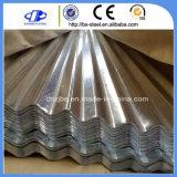 波形の電流を通された鋼板亜鉛アルミニウム屋根ふきシート