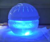 LED 빛 급수 공기 정화기를 사용하는 사무실 룸