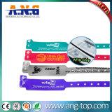 Wasserdichtes RFID Belüftung-Kennzeichen-Armband für Swimmingpool