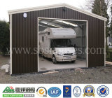 Garage de la estructura de acero de la Solo-Puerta