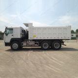 판매를 위한 Sinotruk HOWO 6X4 팁 주는 사람 트럭 20cbm 쓰레기꾼 트럭