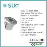 Diodo emissor de luz redondo sob a luz do gabinete para o Wardrobe (SLCG-E003)