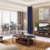 Tribune van de Lijst TV van het Kabinet van het Meubilair van de woonkamer de Houten (LTV2015)