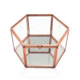Rectángulo de empaquetado de la alta calidad de la joyería de cristal decorativa de lujo del almacenaje