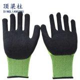 Couper les gants résistants de sûreté avec des nitriles de mousse de TPR