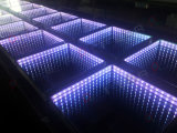 3D наружного зеркала заднего вида Infinirt LED Dance лампы фонаря освещения пола на этапе Свадебное Disco