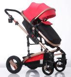 Neuer Entwurfs-europäischer Luxuxfalten-Kinderwagen mit Cer-Bescheinigung