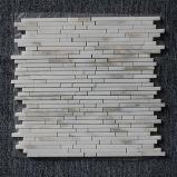 L'osso aringhe/del cestino/Chevron/marmo bianco di Sexangle lucidato/smerigliatrice Carrara/mattonelle di mosaico bianche orientali