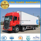 JAC 8X4 kühlte Hochleistungskühlraum-LKW 30 Tonnen Lastwagen-LKW