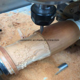 China CNC Router de madera giratorio Clinder Máquina para el sofá de muebles de artesanía de la pierna