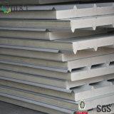 Pannelli a sandwich d'isolamento affrontati metallo dell'unità di elaborazione per il tetto e la parete