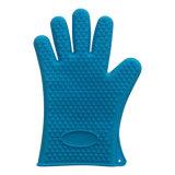 Микроволновая печь пищевой категории силикон кухонные рукавицы толстых силиконового герметика для барбекю перчатки