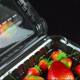Contenitori impaccanti di contenitori delle derrate alimentari della frutta pp dell'animale domestico del PVC della bolla di plastica trasparente della copertura superiore