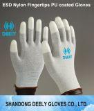 Sicherheit PU-Oberseite passender ESD-antistatischer Handschuh für Vietnam