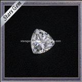 1개의 캐럿 Trilliant는 7X7mm 합성 물질 다이아몬드 Moissanite 돌을 잘랐다