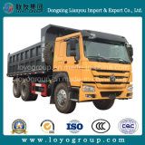 HOWO Bergbau-Kipper Sinotruk 6X4 Lastkraftwagen mit Kippvorrichtung