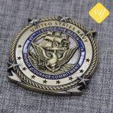 Beste Großhandelsqualitätskundenspezifische Abzeichen-Laufring-Trophäe-Andenken-Medaille