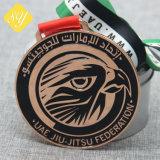 Оптовая торговля наилучшее качество пользовательских ОАЭ эмаль поощрения сувенир медаль