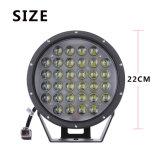 """9 """" indicatore luminoso di azionamento fuori strada rotondo di pollice 320W LED per i trattori del camion"""