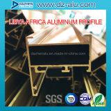 Алюминиевый профиль для рынка Ливии Либерии двери окна